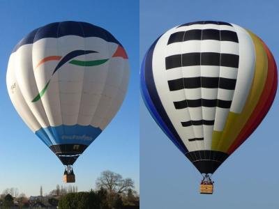 Maak kennis met onze luchtballons